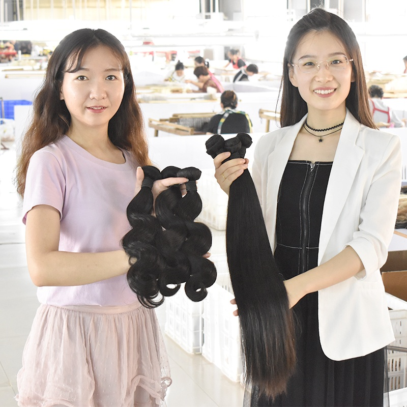 Virgin Cuticle Aligned Hair , Raw Cambodian Hair Vendor Wholesale Short Human Hair Bundles 12