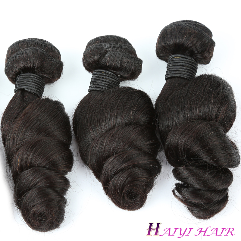 The latest wholesale Price Brazilian  Raw Hair Virgin Loose Wave 10