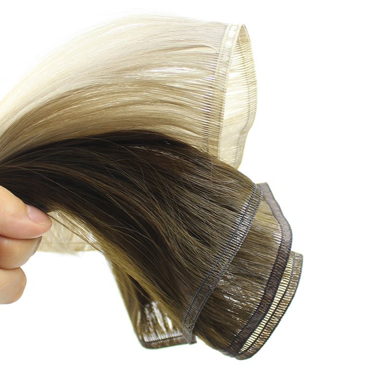 Celebrity Luxury Quality Last 2 Years Cuticle Aligned Double Drawn Comfroable Flat Weft Thick Ends 11