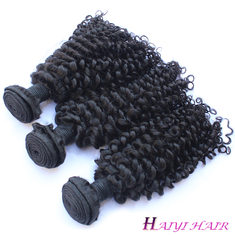 Best Kinky Curly 100% Human Hair Tangle Free Wholesale Price Virgin Brazilian hair 9