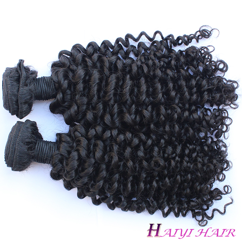 Best Kinky Curly 100% Human Hair Tangle Free Wholesale Price Virgin Brazilian hair 8