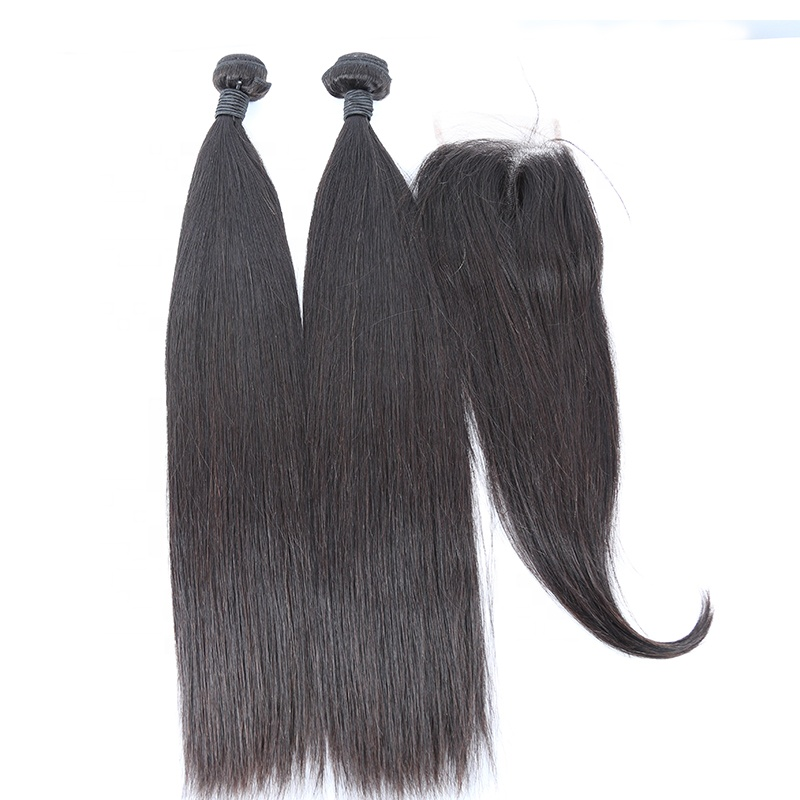 Straight Free sample hair bundles wholesale brazilian 100% remy hair human bundles vendor 15
