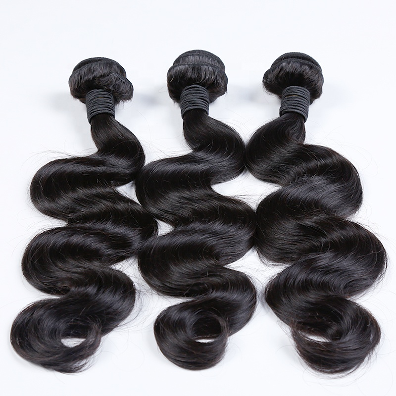 100% Unprocessed Raw Peruvian Hair Body Wave Hair Bundle For Black Women  Overnight Shipping 16