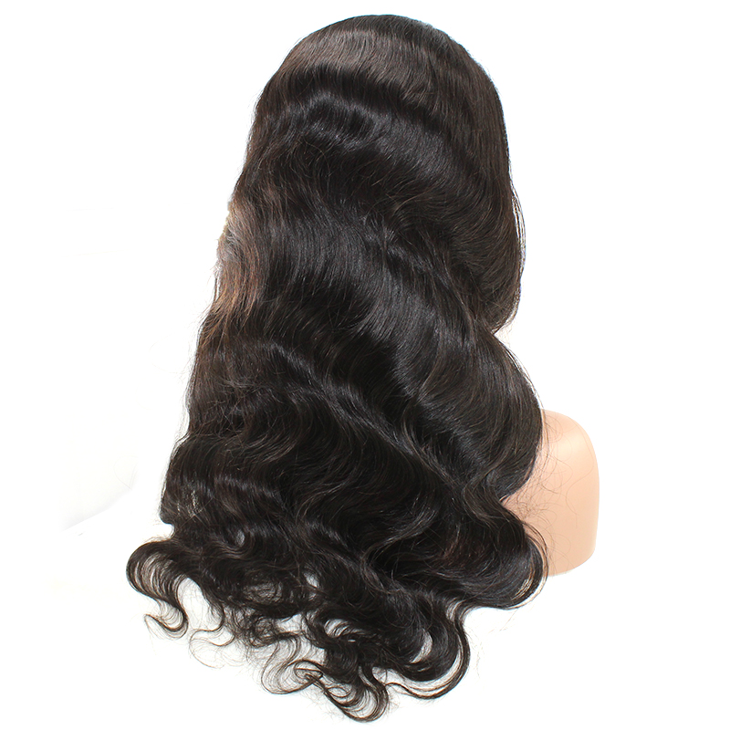 Body Wig High Quality Brazilian Hair  Remy Hair 150% Density Full Lace Wigs Vendor With Body Wave Lace  Wig 10