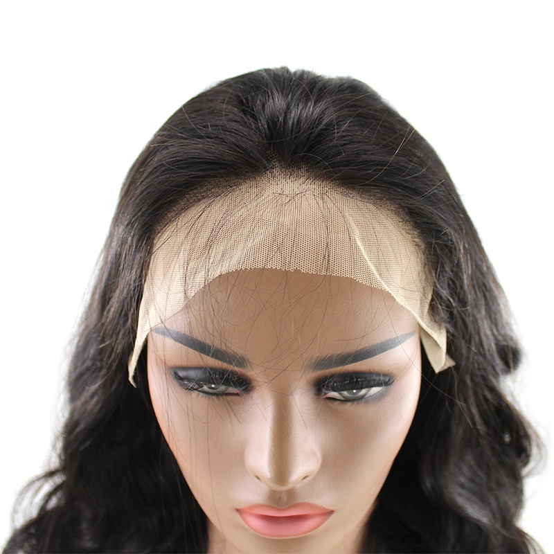 Wholesale Cambodian Hair Vendors Unprocessed Body Wave Lace Frontal Wigs human hair supplier Overnight shipping human hair 10