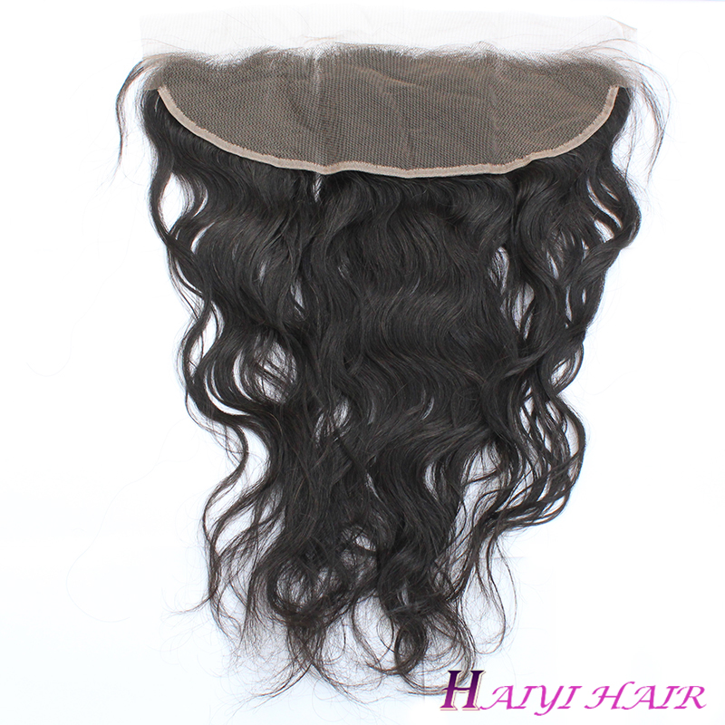 13*6 Lace Frontal Pieces Natural Wave Lace Frontal 10A Grade Brazilian Hair 10