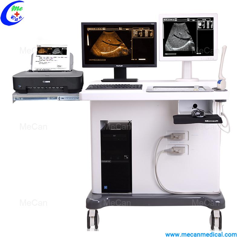 Trolley Ultrasound Scanner with Workstation
