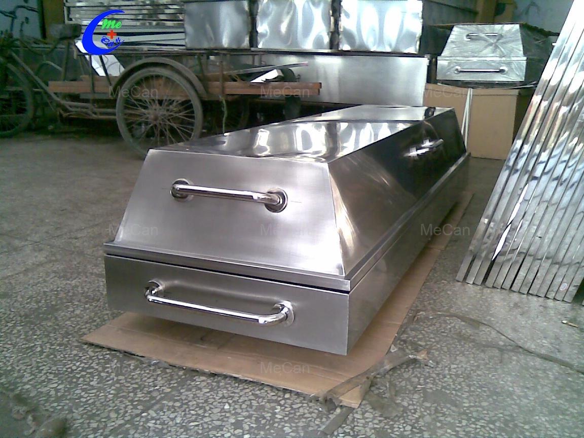 MeCan Brand MCM-TC05 Custom Steel Morgue Corpse Cart 9