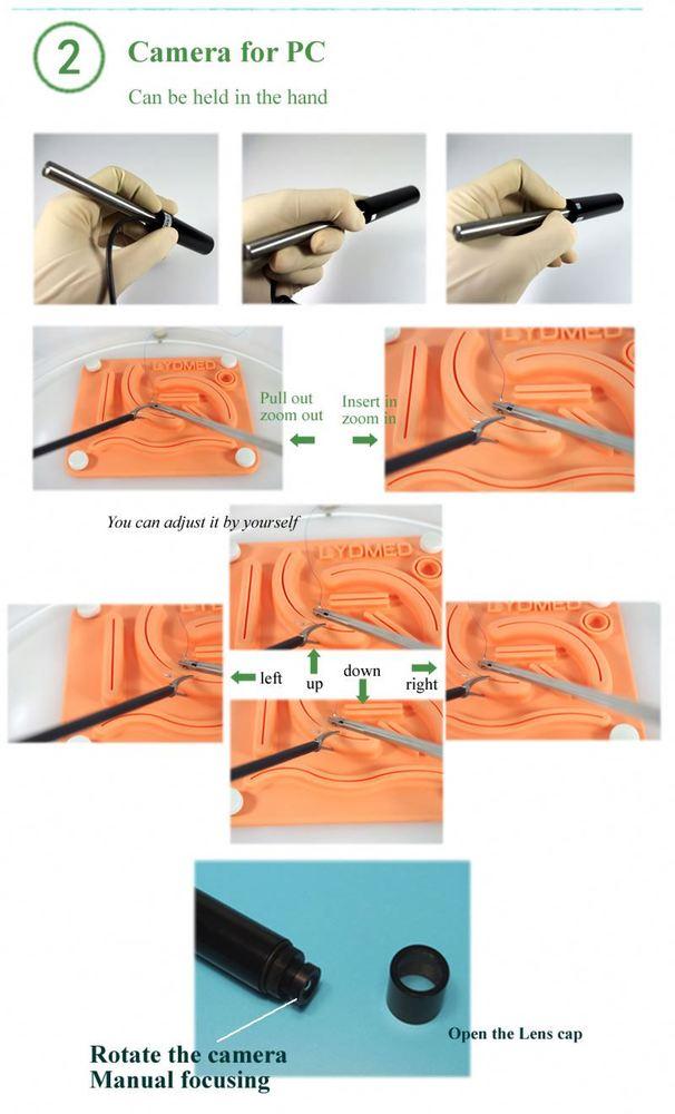 endoscopic simulating box