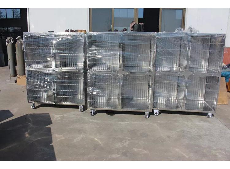 Veterinary Equipment Stainless Steel Veterinary Animal Pet Dog Cage 4