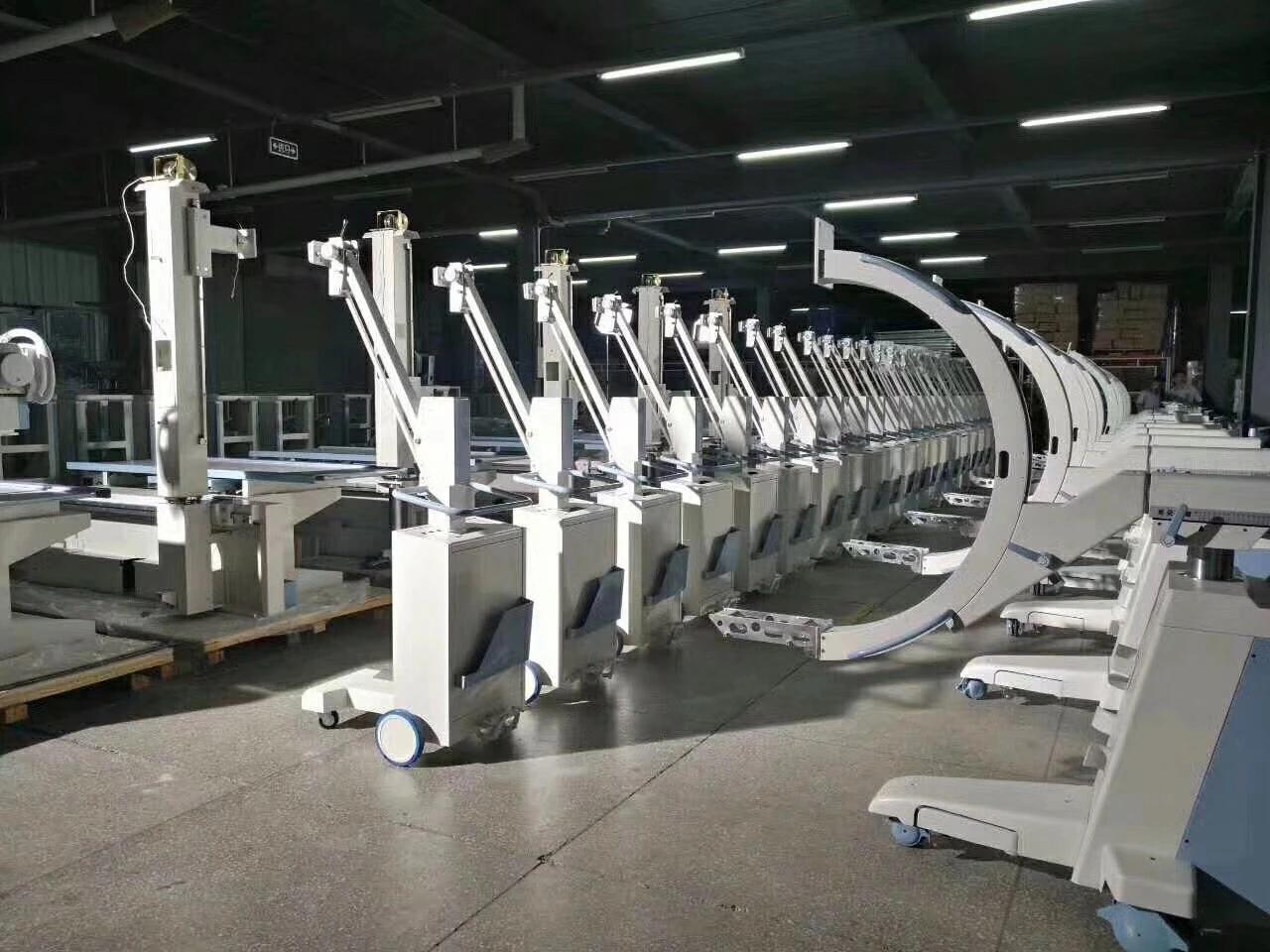 High Frequency 100mA C Arm X Ray Machine 9