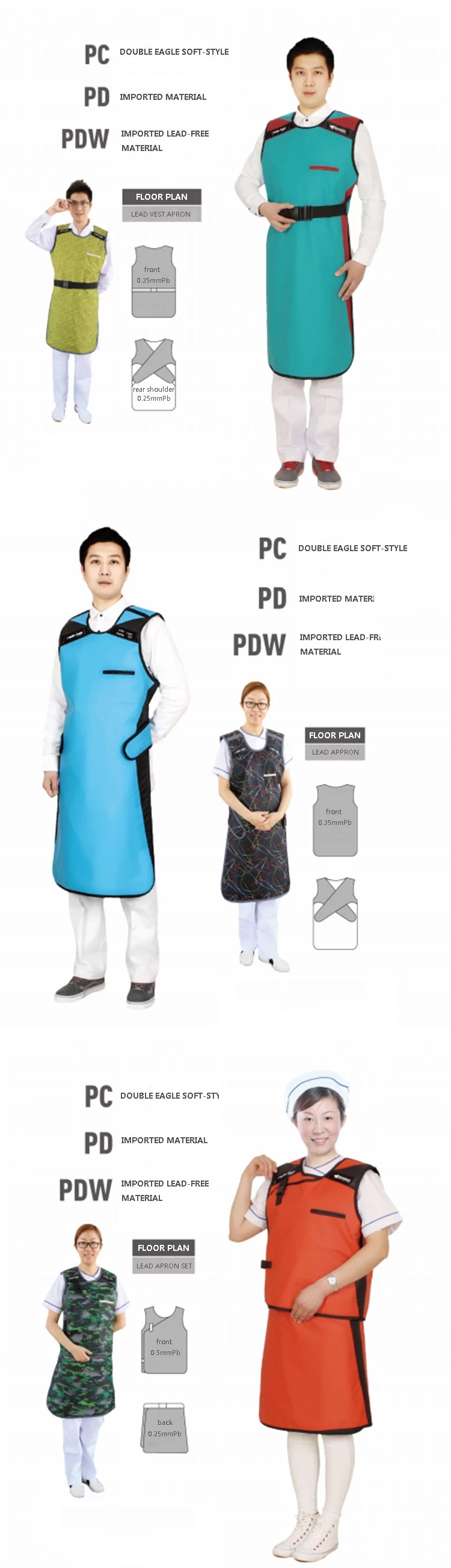mcx-a015 lead collar x-ray protective clothing