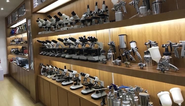 MeCan Brand 1 Set Optical Microscope Working 1 Set Factory 11
