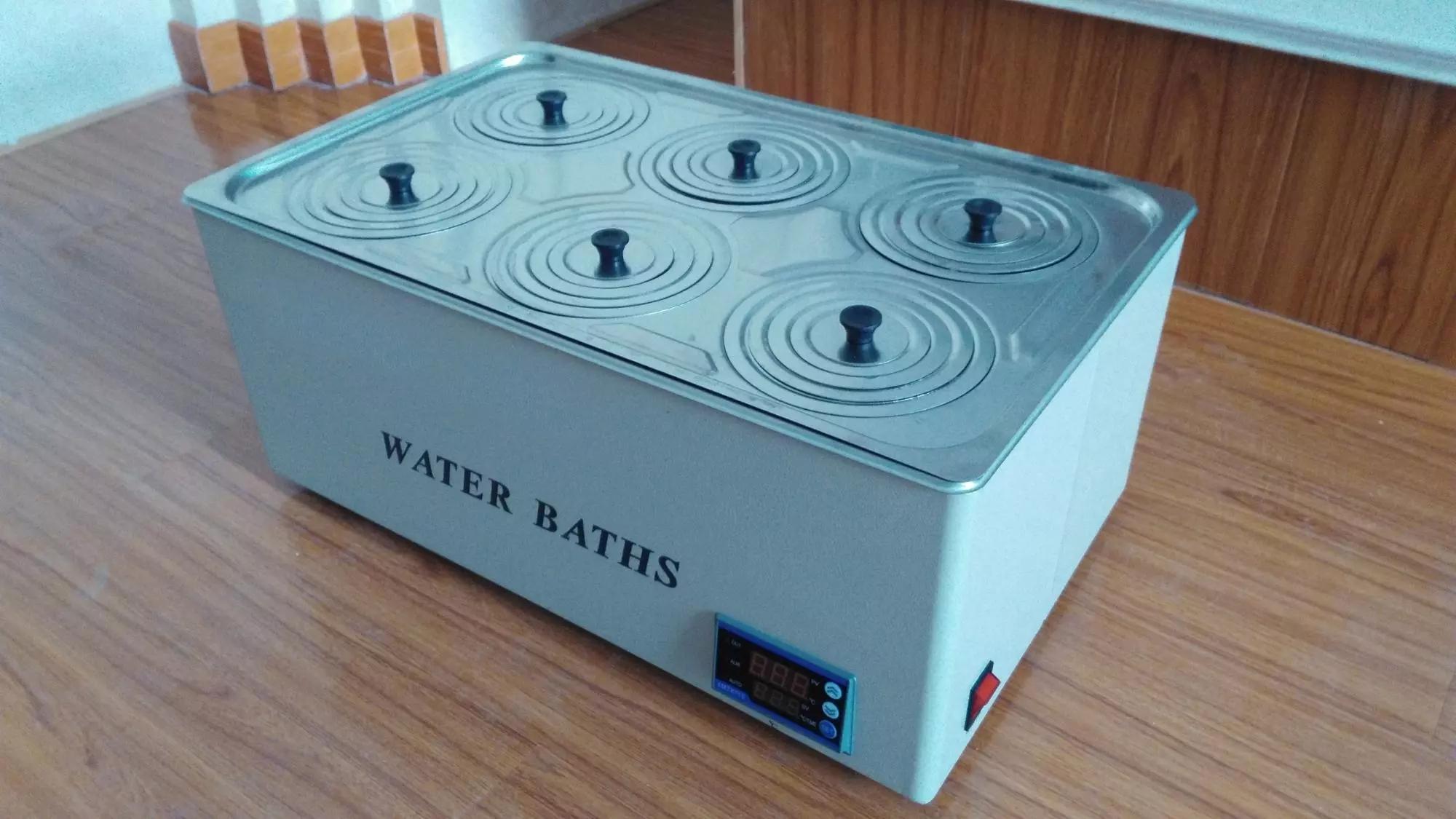 Digital Magnetic Stirrer Thermostat Water Bath 7