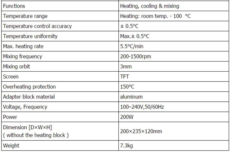 Digital Heating Block Dry Bath Incubator 3