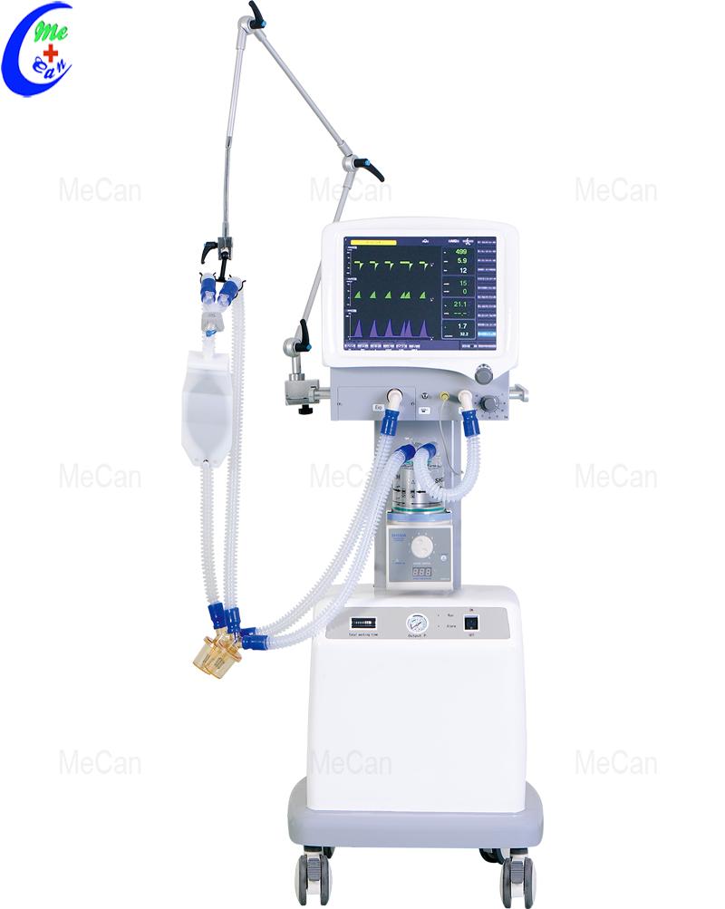 ventilator with compressor
