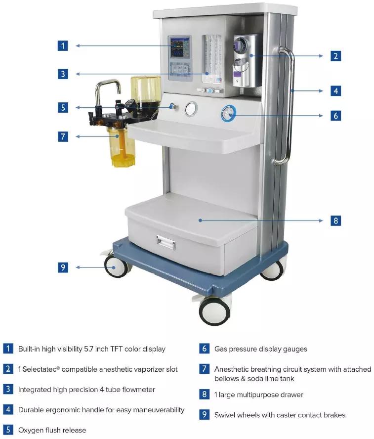 Medical Hospital ICU Anesthesia Equipment