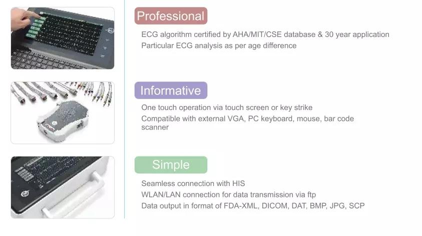 MeCan Brand Portable ECG Machine Manufacture 8