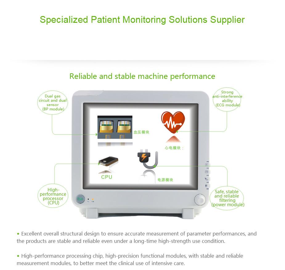 Multi Parameter ICU Patient Monitor System 5