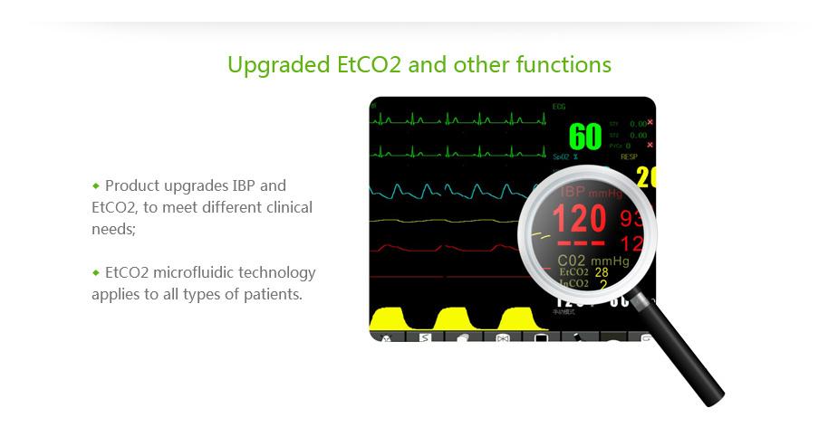 Multi Parameter ICU Patient Monitor System 8