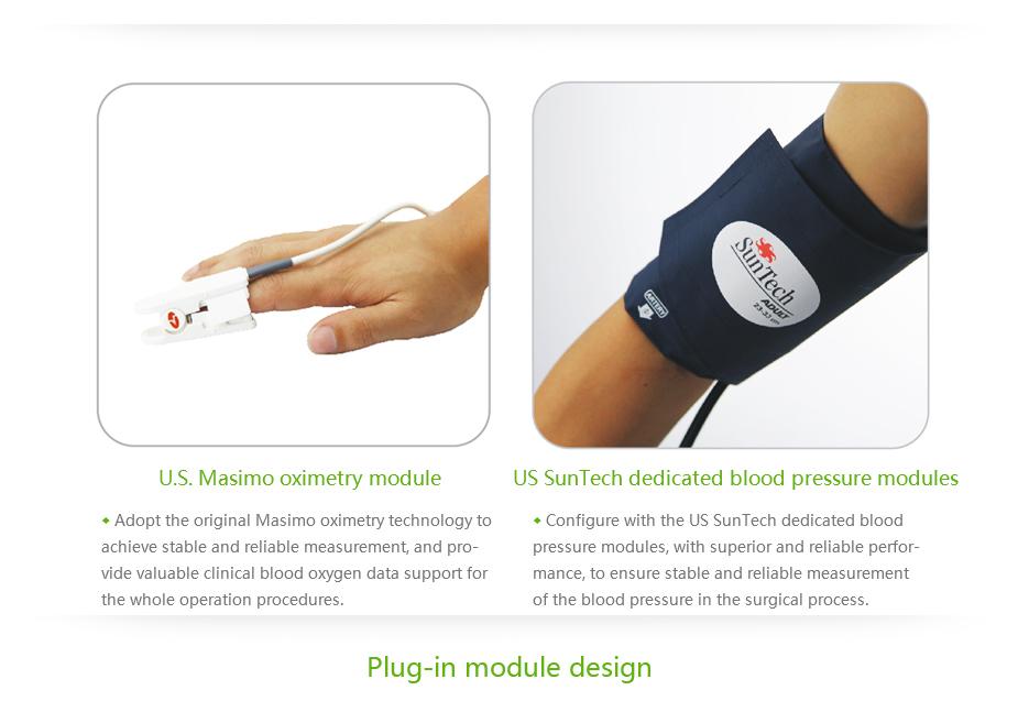 MCS-PM08 Patient Monitor MeCan Brand 6