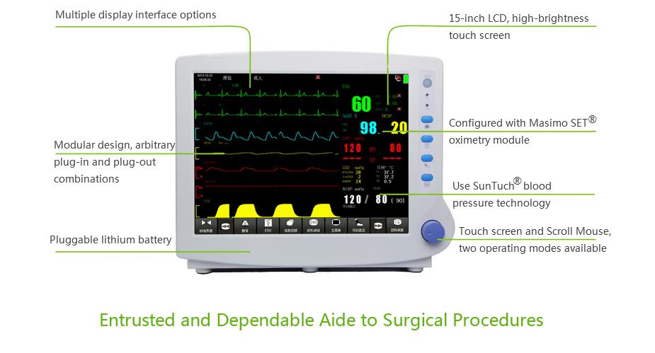 MCS-PM08 Patient Monitor MeCan Brand 4