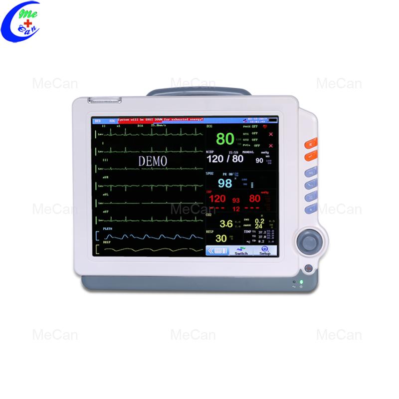 Multiparameter 6 Parameter Portable Patient Monitor