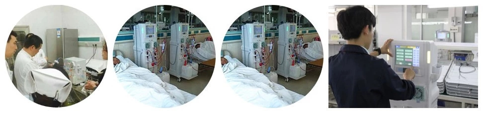 Double Pump Blood Kidney Dialysis Machine For Sale