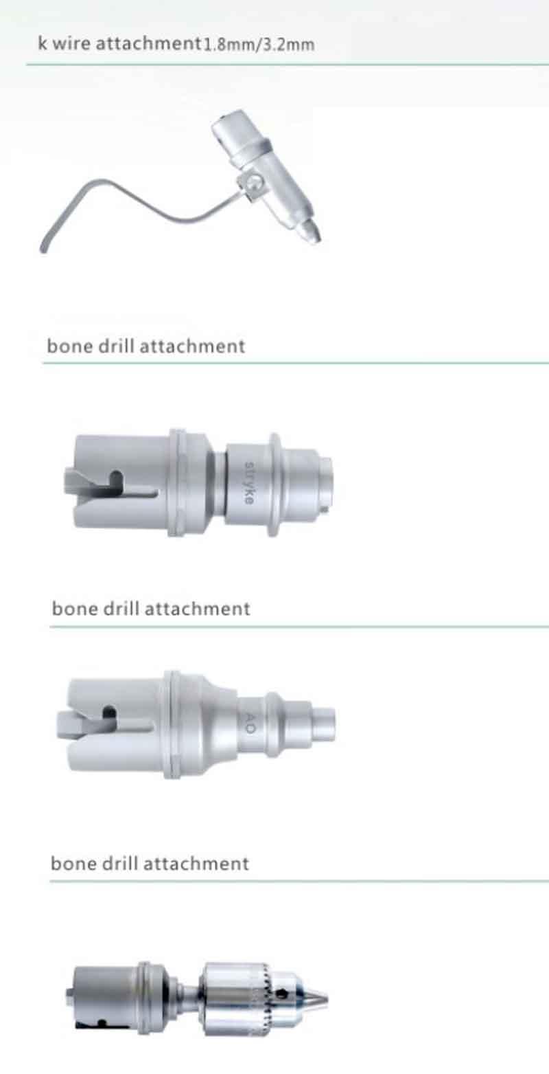 E Series MultiFunctional System Orthopedic power tools