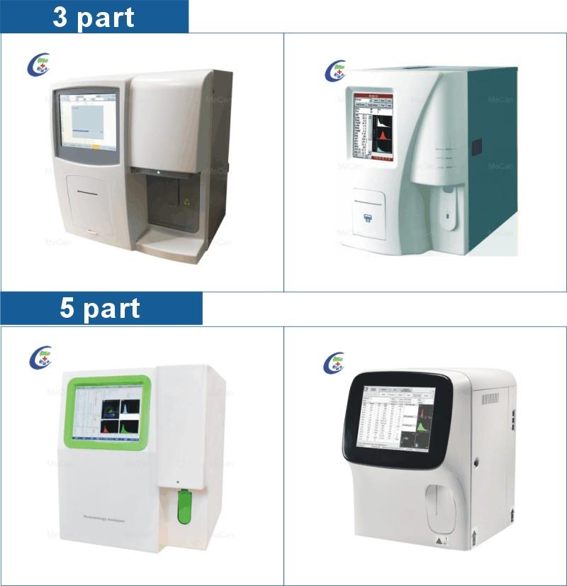 Blood Test Laboratory Equipment CBC Machine 5-part Hematology Analyzer 10