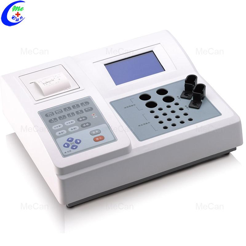 Portable 2 Channel Large LCD Display Coagulation Analyzer     3