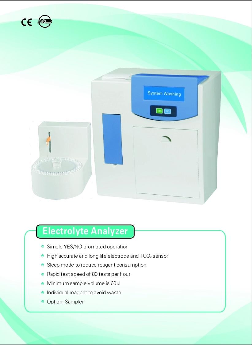 Blood Gas Serum Electrolyte Analyzer For Electrolyte Measurement 3