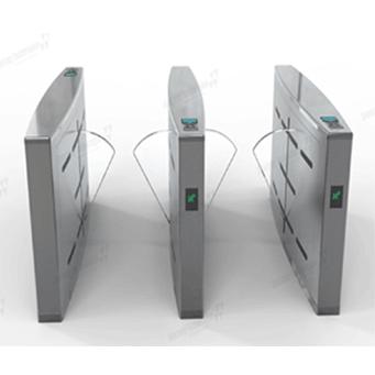 Flap turnstile gate