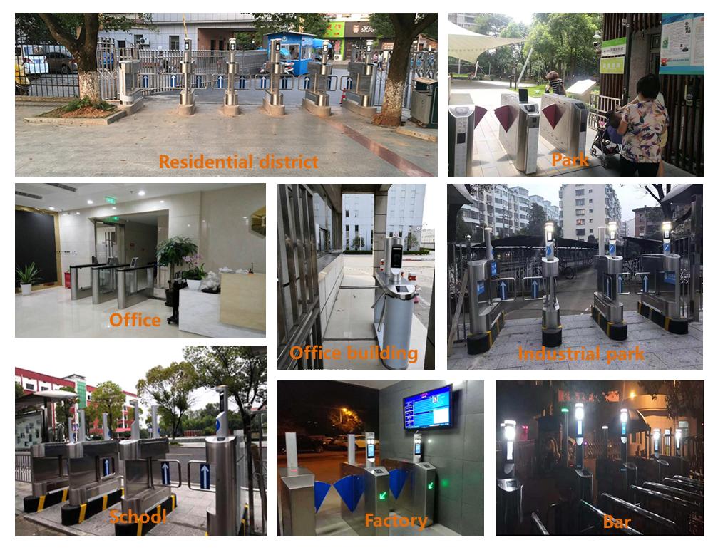 Application scenarios of access control system