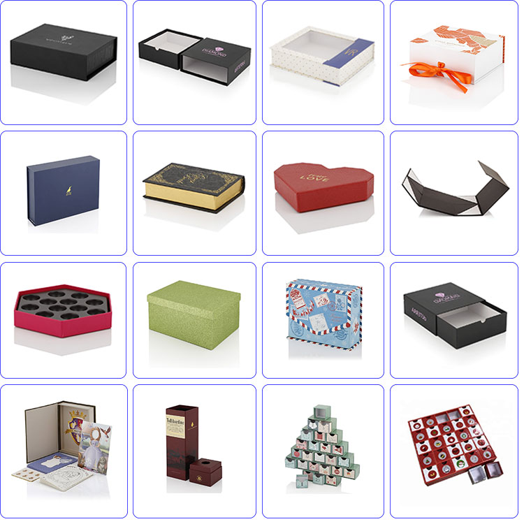 China Wholesale Custom Cardboard Gift Pack Paper Box Drawer Packaging Box 12