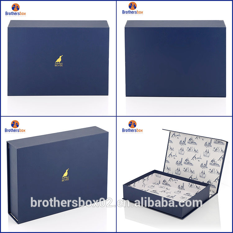 Paper Material and Paperboard Paper Type magnetic gift box 7