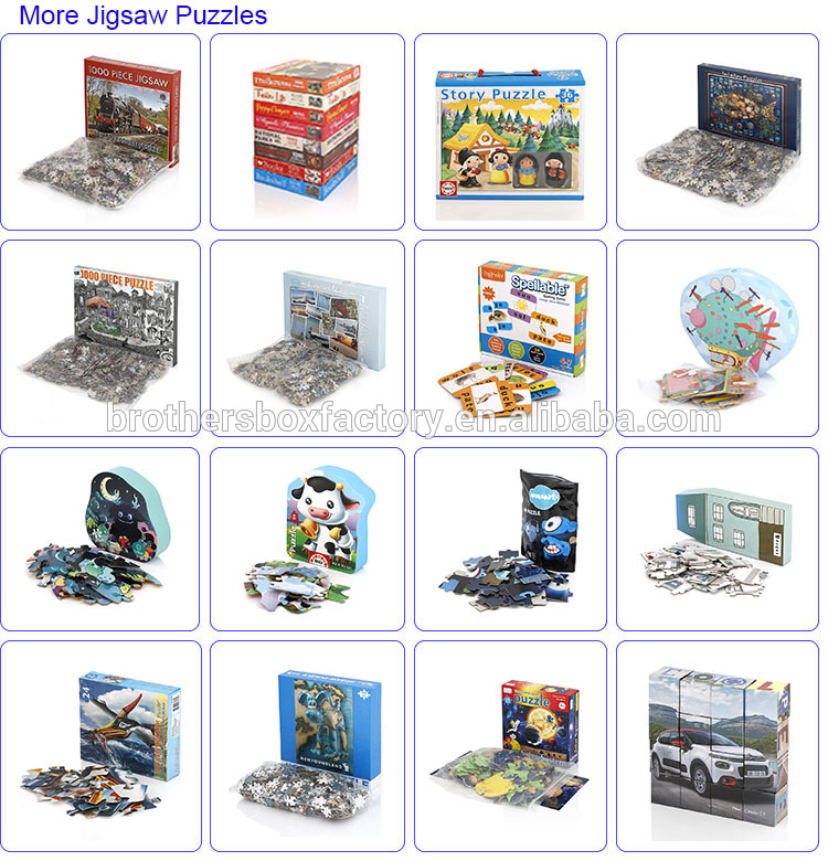custom jigsaw puzzles 500 pieces puzzle box for adults brain 12
