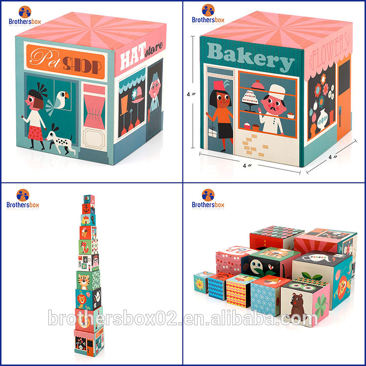 Personalized Handmade magnetic building block sets 7