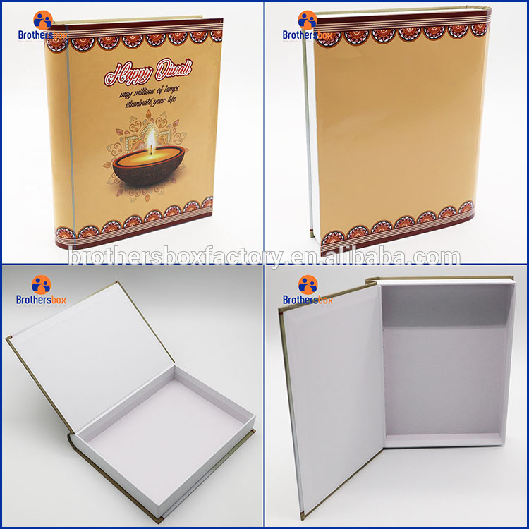 Book Shaped Cardboard Boxes magnetic Packing Cardboard boxes 7