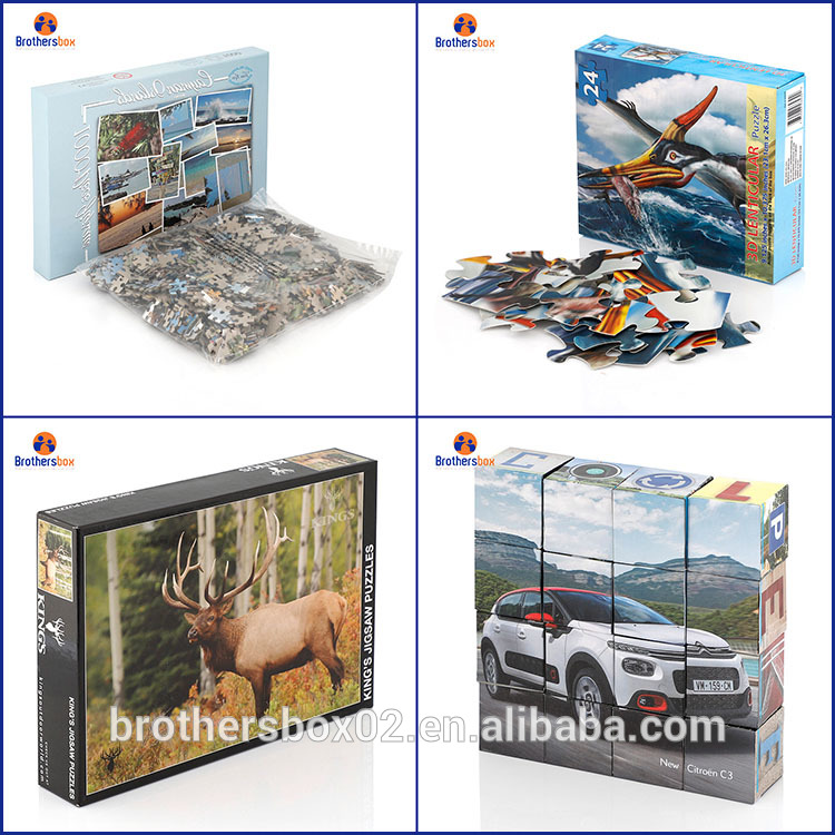 china supplier magnetic jigsaw puzzles for kids christmas gift 4