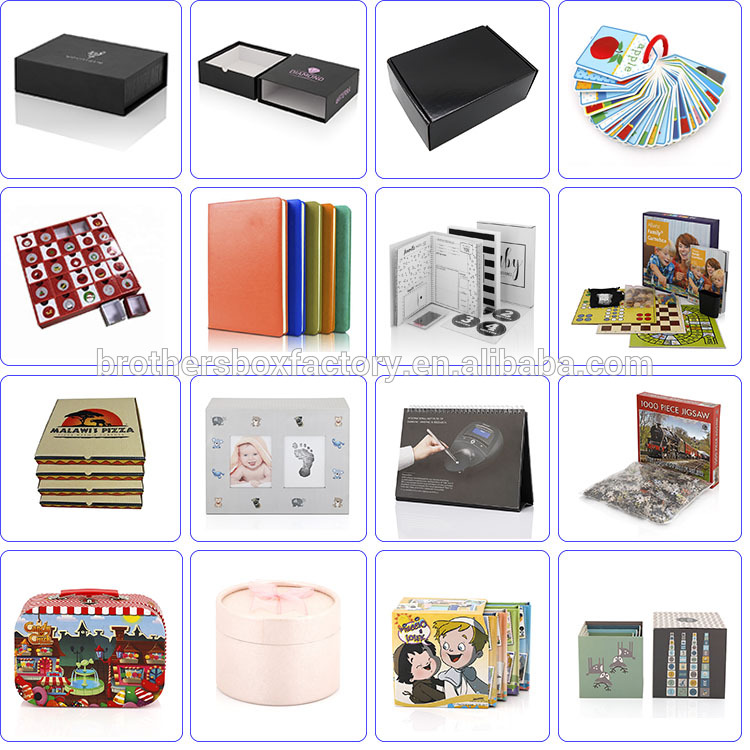 Popular top quality CMYK color a4 portfolio paper file folder 12