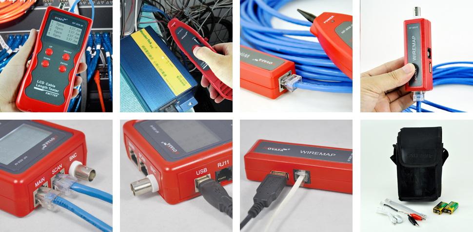 Wholesale BNC Cable Length Tester NOYAFA Brand 5