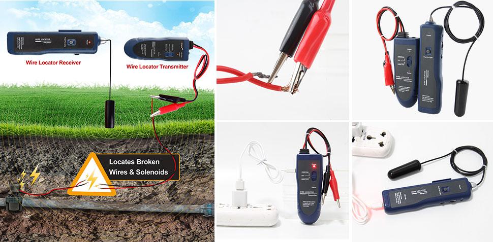 Hot 1Year Underground Wire Tracer 1Year NOYAFA Brand 5