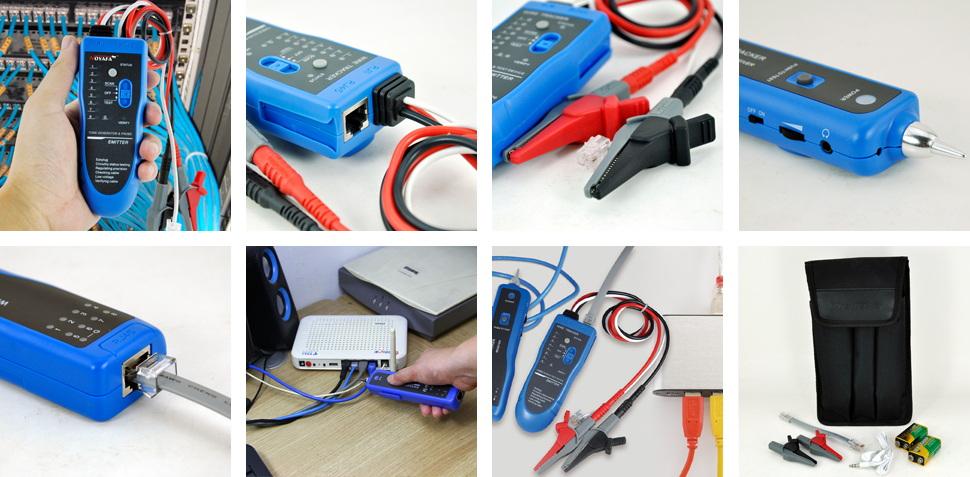 Fiber Optic Test Equipment Manufacturers RJ45 Bulk Buy RJ45 NOYAFA 5
