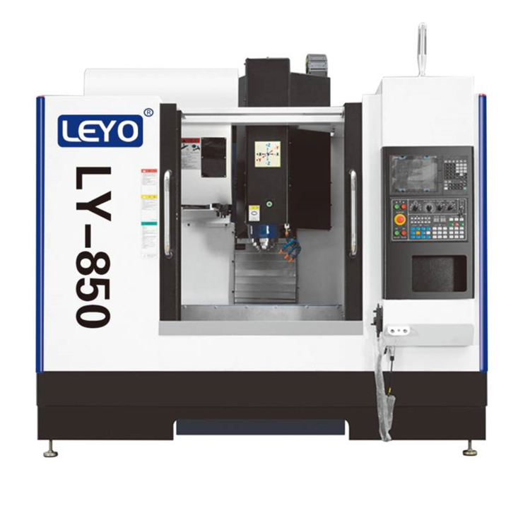 LEYO vmc 850 steel milling machine metal milling machine 10