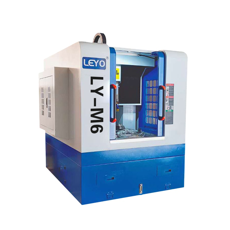 LEYO 650 cnc vertical milling machine milling machine for metal 10