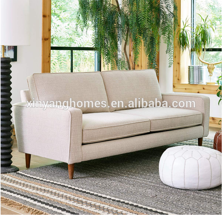 Modern luxury waterproof comfort fashionable leather sofa furniture 15