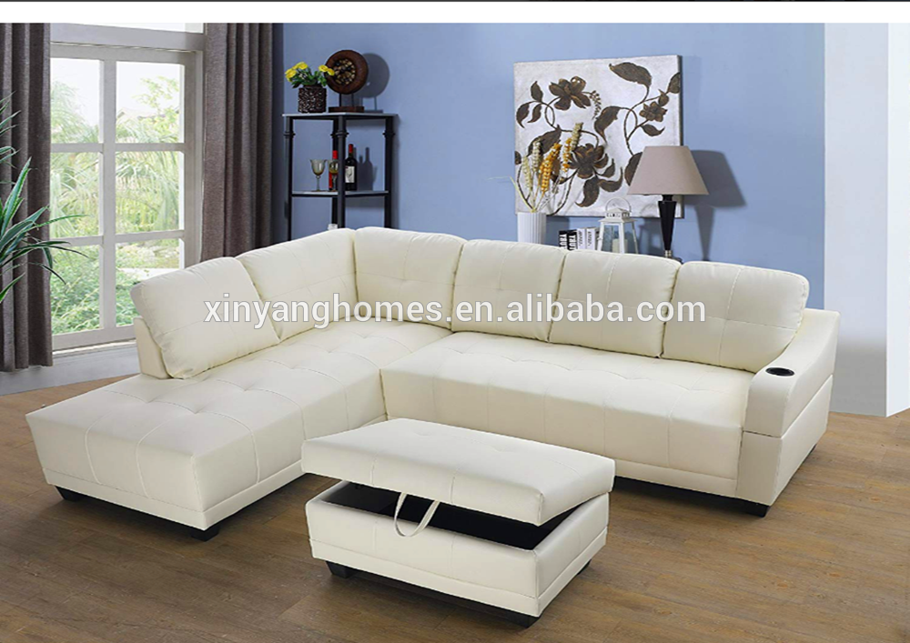 Modern luxury waterproof comfort fashionable leather sofa furniture 20