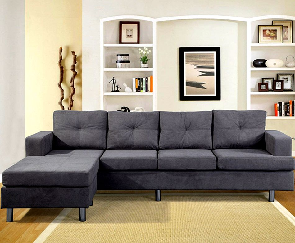 Dark Gray Fashion Funny Multi-Function Waiting Room Fabric Material Sofa Set Chairs 15